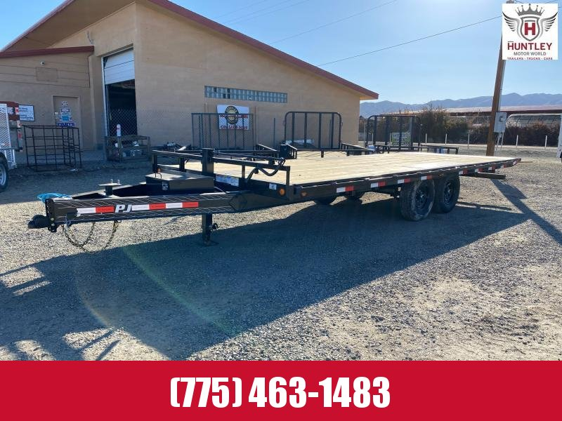 2021 PJ Trailers Deckover Tilt (T8) 22' Equipment Trailer