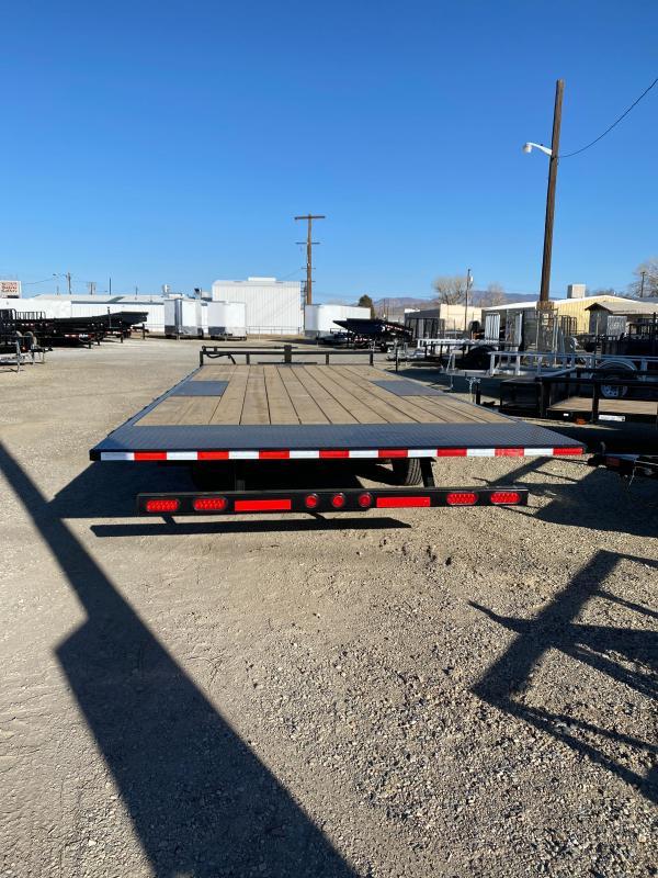 2021 PJ Trailers Deckover Tilt (T8) 22' Equipment Trailer