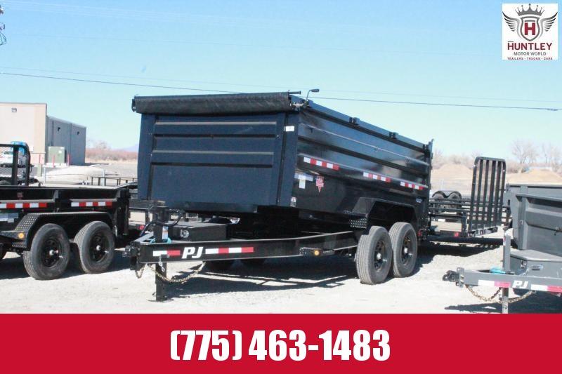 2021 PJ Trailers 83 Low Pro High Side Dump (DM) Dump Trailer $10895