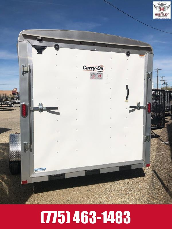 2021 Carry-On 7X12CGR1AXLE Enclosed Cargo Trailer