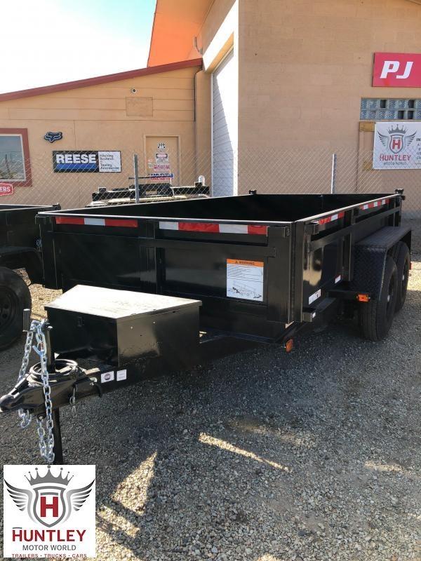 6X12 DUMPLP10K  Carry-On Dump Trailer