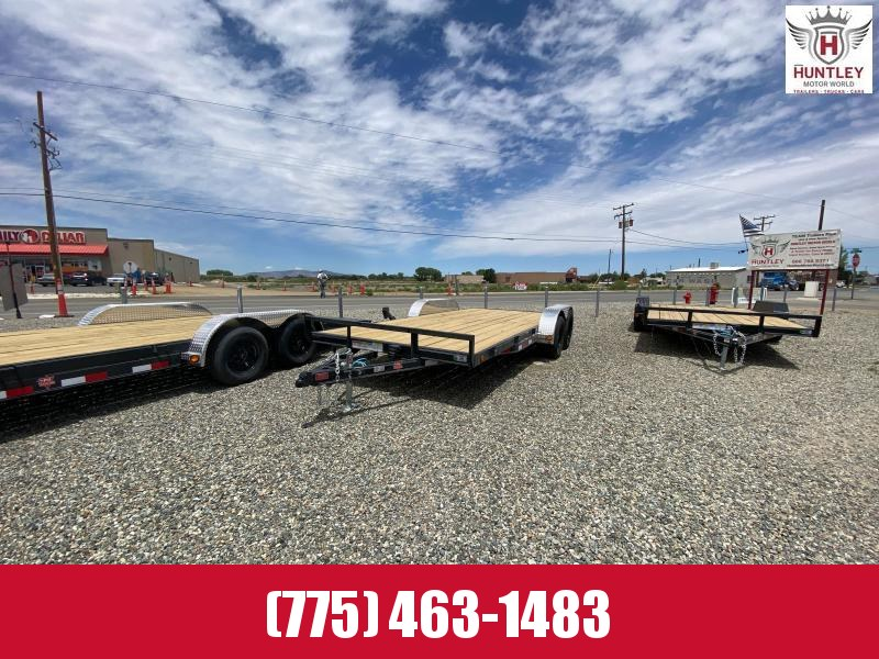 "2022 PJ Trailers 83"" x 18' 4"" Channel Carhauler (C4) Car / Racing Trailer"