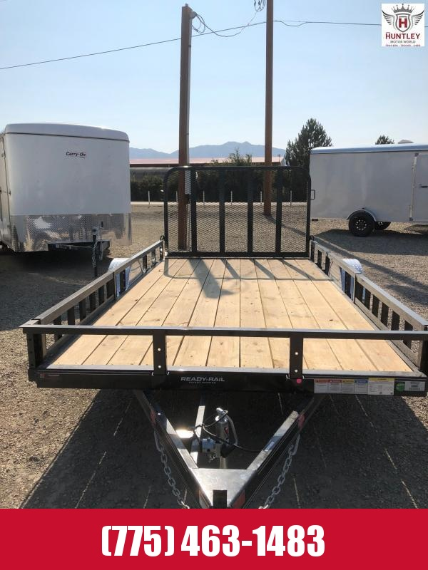 "14X83"" Single Axle Channel Utility (U8) 2022 PJ Utility Trailer"
