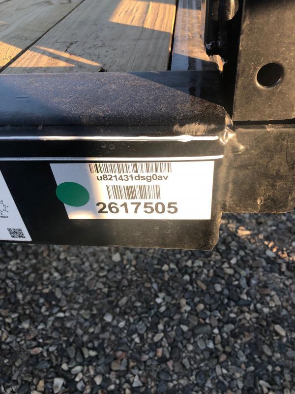 2021 PJ Trailers U8 12' ATV/ Utility Trailer ATV Trailer