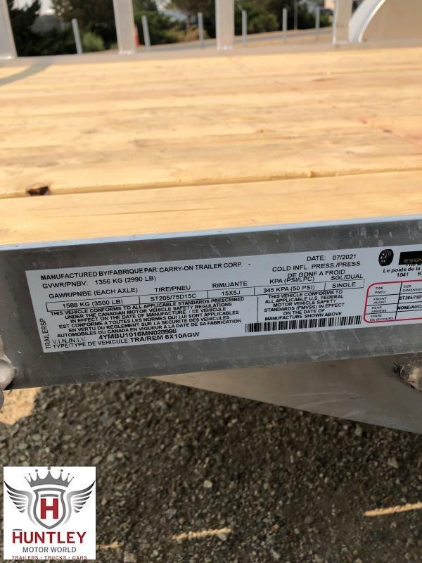 6X10 AGW Carry On Utility Trailer
