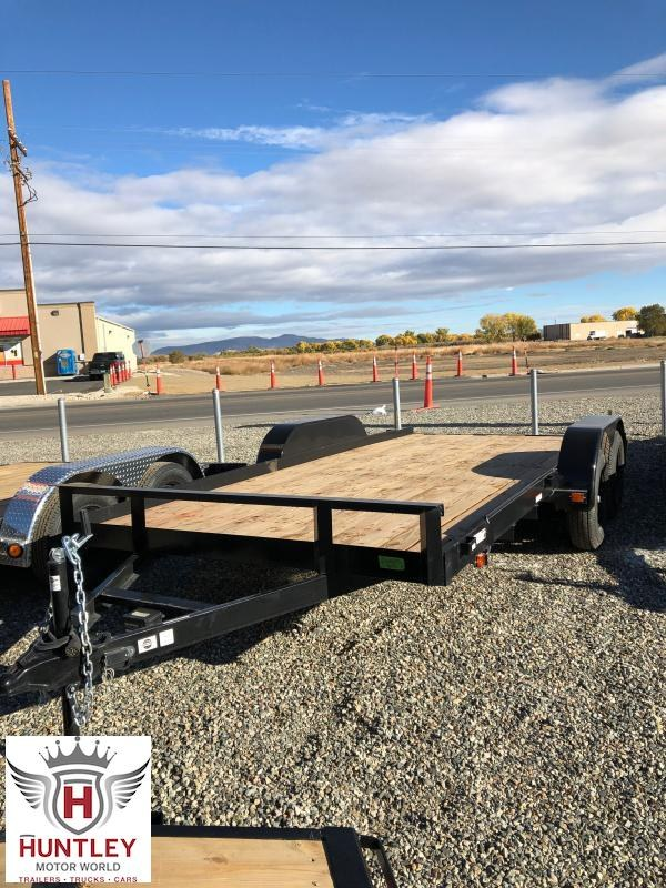 7X16CH2BRK 2021 Carry-On Equipment Trailer