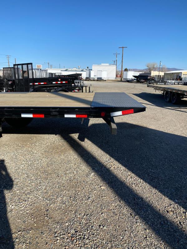 2021 PJ Trailers Deckover Tilt (T8) 22' Equipment Trailer $8695