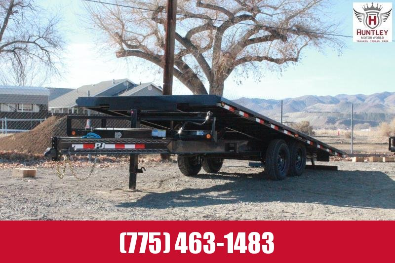 2021 PJ Trailers Deckover Tilt (T8) 22' Equipment Trailer $8695