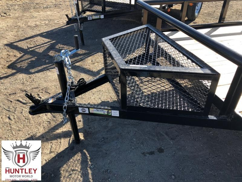 6X12GWPTLED Carry- On Utility Trailer