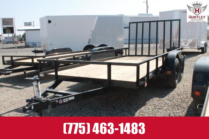 2020 Carry-On 6X14GW2BRK Utility Trailer $2595