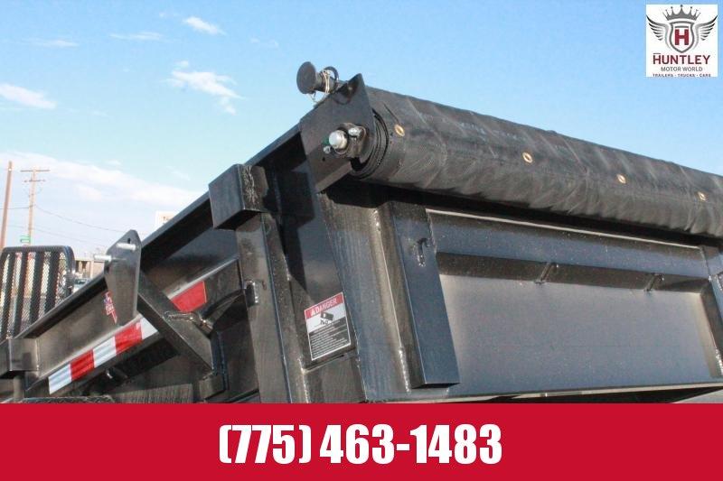 2021 PJ Trailers 60 in. Utility Dump (D5) Dump Trailer $6495
