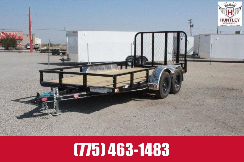 "2021 PJ Trailers UK 14'X77"" Utility Trailer $3295"