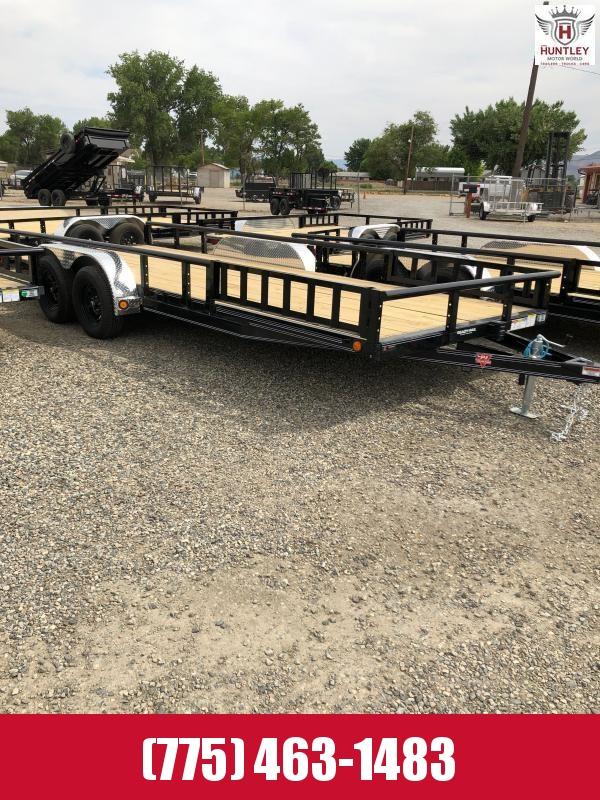 "83"" x 20' Tandem Axle Channel Utility (UL) Utility Trailer 2022 PJ Trailers"