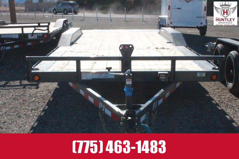 "2021 PJ Trailers 5"" Channel Buggy Hauler (B5) 20' Car / Racing Trailer"