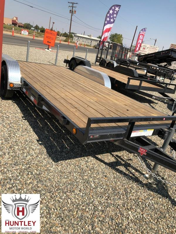 """83"""" x 18' (C4) PJ Trailers Car / Racing Trailer"""