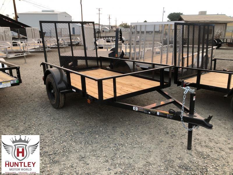 5X8 2021 Carry-On Landscape / Utility Trailer