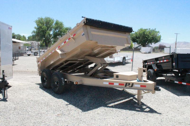 "2021 PJ Trailers 12' x 83"" Low Pro Dump Trailer"