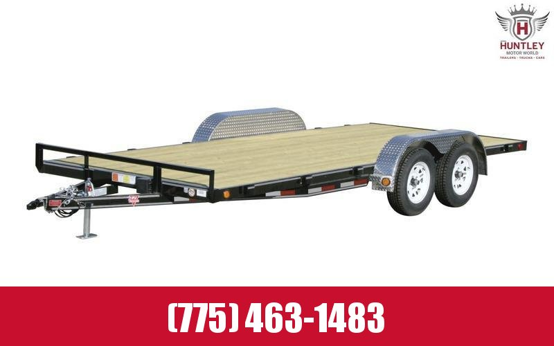 "2021 PJ Trailers 83"" x 18' 4"" Channel Carhauler (C4) Car / Racing Trailer"