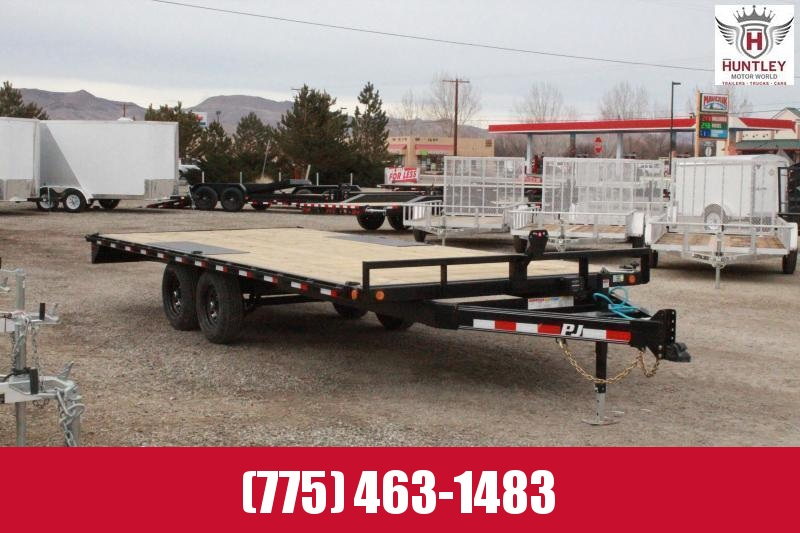 2021 PJ Trailers Medium Duty Deckover 6 in. Channel (L6) Flatbed Trailer $5995