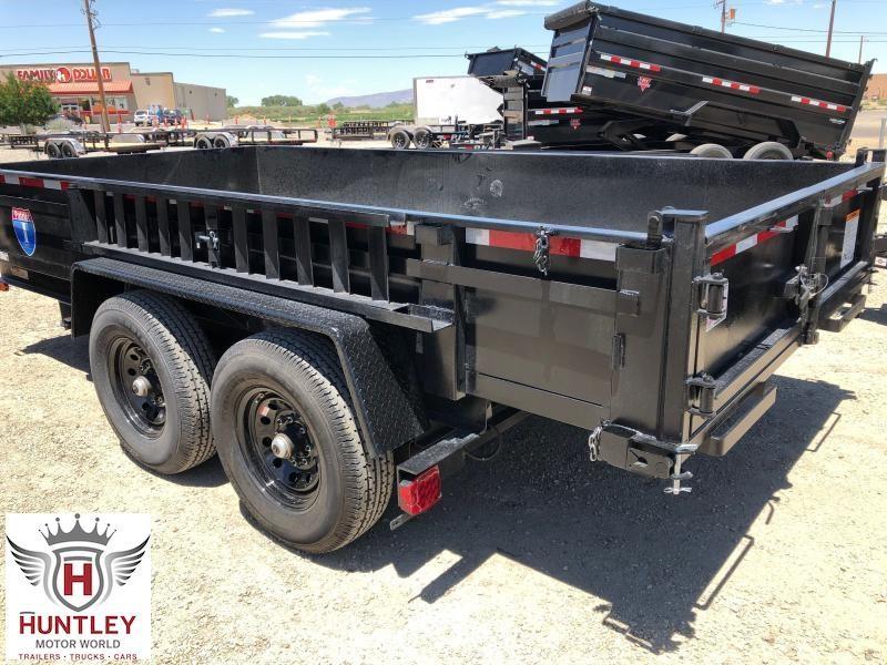 7X14 Carry-On Dump Trailer