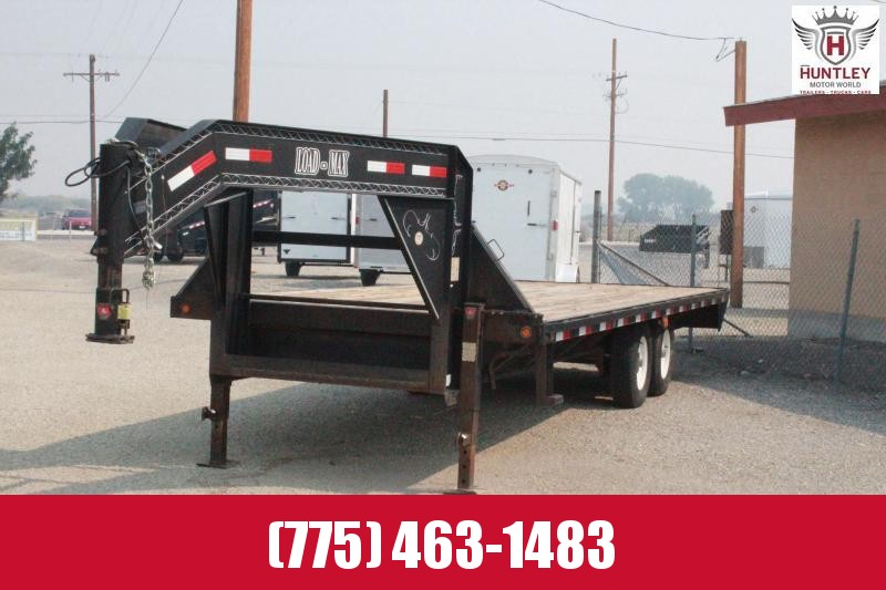 "2005 Load Max 102"" x 22"" GN Equipment Trailer"