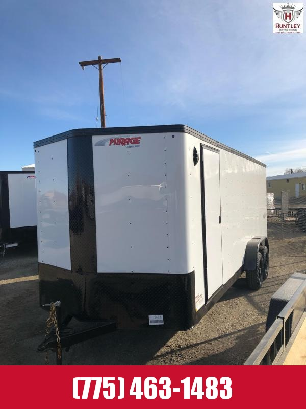 2021 Mirage Trailers XPS720TA3 Enclosed Cargo Trailer $9295