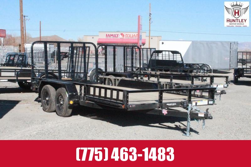 2021 PJ Trailers 83 in. Tandem Axle Channel Utility (UL) Utility Trailer $3595