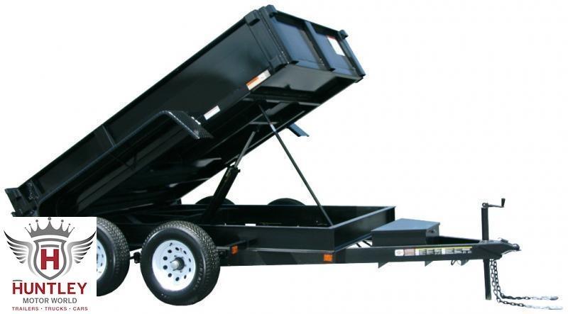 6X12 Carry-On Dump Trailer