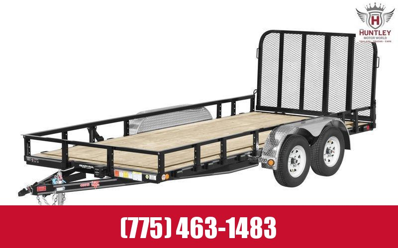"83"" x 14' 2021 PJ Trailers Tandem Axle Channel Utility (UL)"