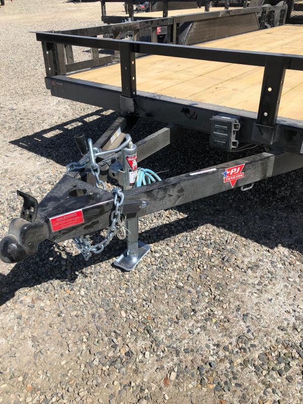 """83"""" x 14' 2021 PJ Trailers  Axle Channel Utility (UL)"""