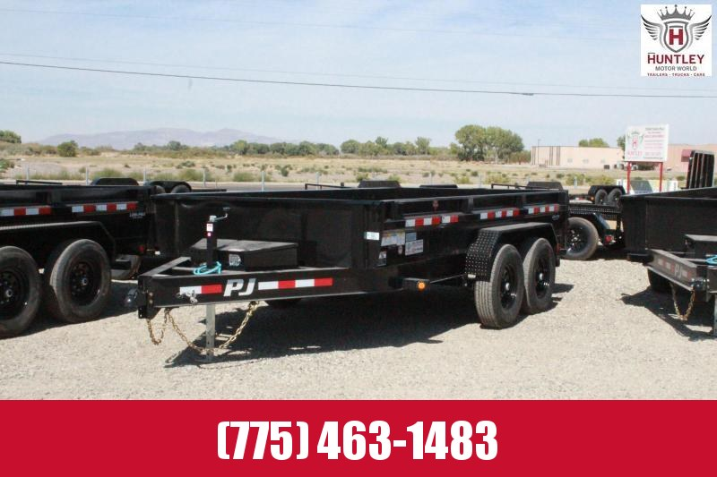 2021 PJ Trailers DG14 Low Pro Dump Trailer $8295