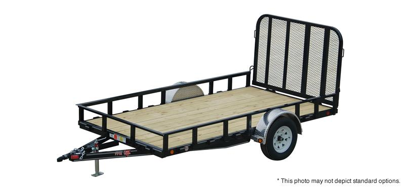 "2021 PJ Trailers 12' x 77"" Sngl Axle Channel Utility Trailer"