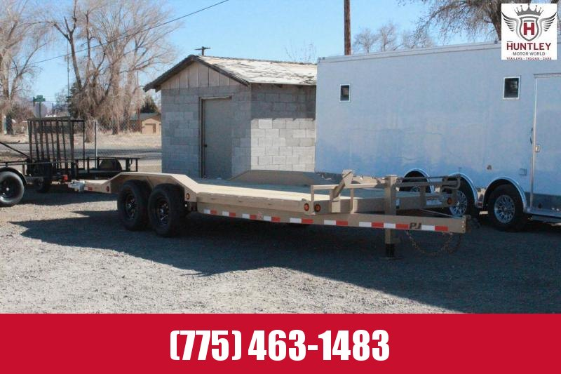 2021 PJ Trailers 6 in. Channel Super-Wide (B6) Car / Racing Trailer $7595
