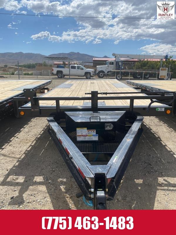 "2021 PJ Trailers 102"" x 22' Deckover Tilt (T8) Equipment Trailer"