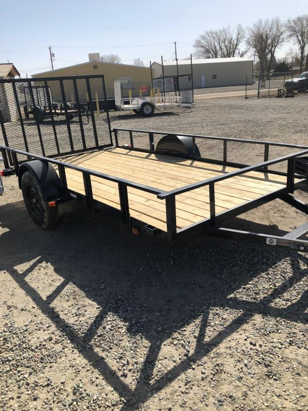 6X12GWTTR 2021 Carry-On Utility Trailer