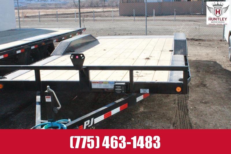 "102""x18' PJ Trailers Buggy Hauler (B5) Equipment Trailer"