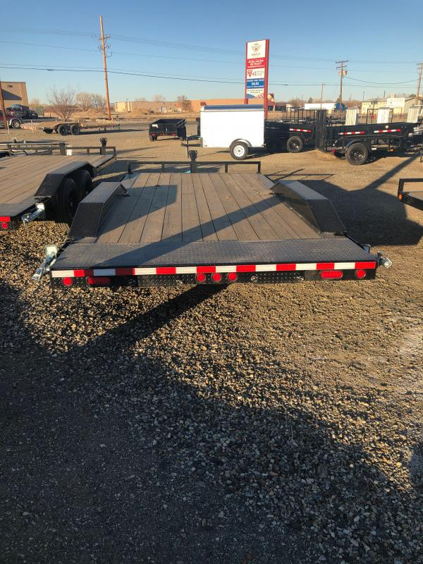 2021 PJ Trailers 5 in. Channel Buggy Hauler (B5) 18' Car / Racing Trailer