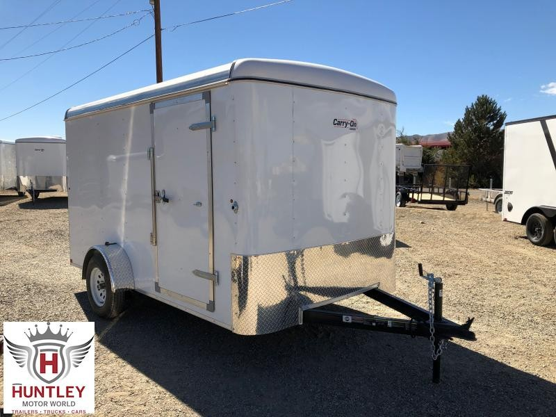 7X12 CGR1AXLE Carry-On Enclosed Cargo Trailer