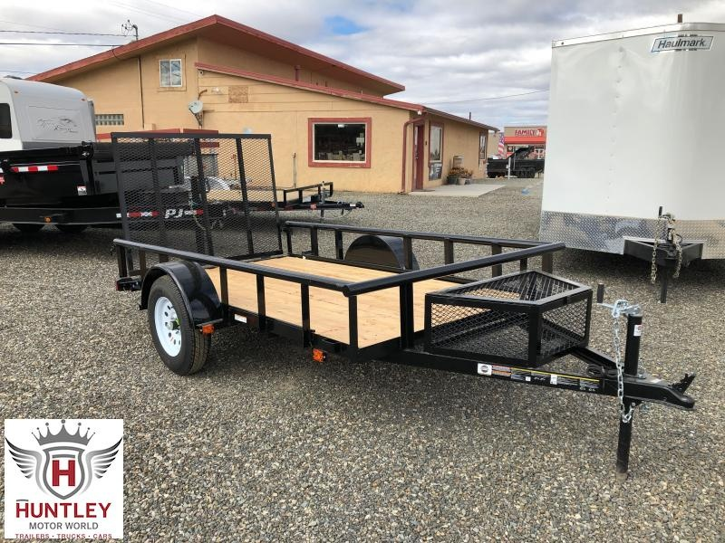 5.5X10 GWPTLED Carry-On Utility Trailer