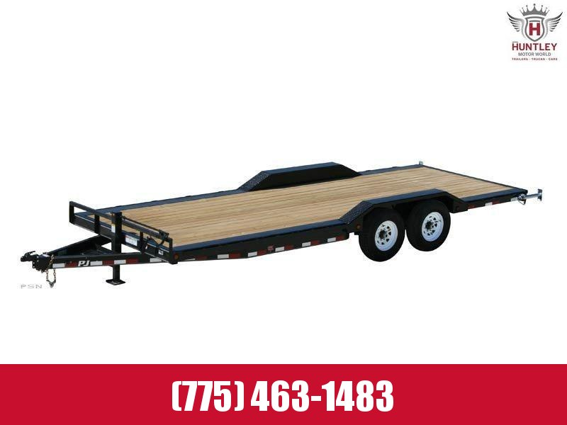 2021 PJ Trailers 6 in. Channel Super-Wide (B6) Car / Racing Trailer