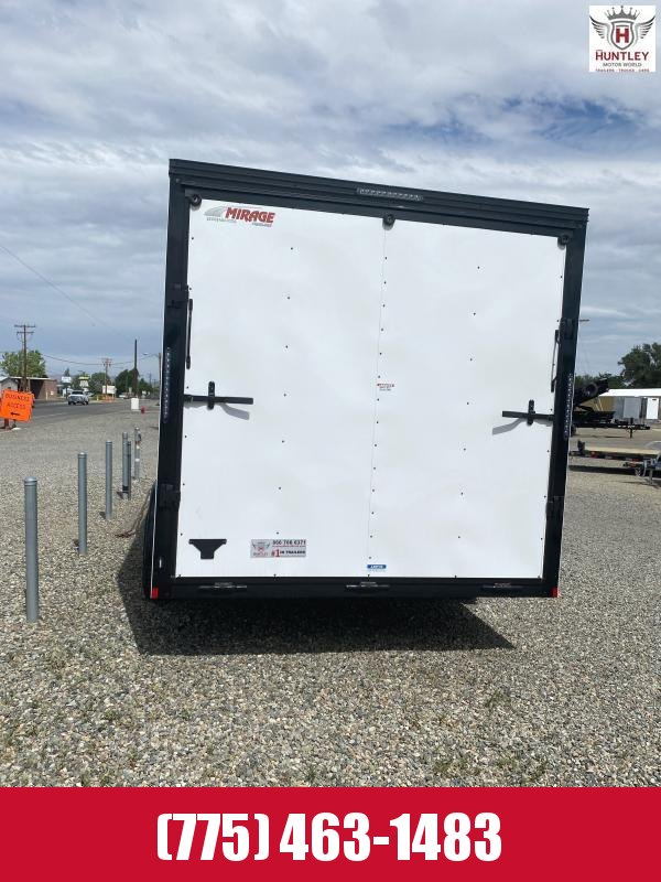 2021 Mirage Trailers XPS 7.6 x 16 TA2 Enclosed Cargo Trailer