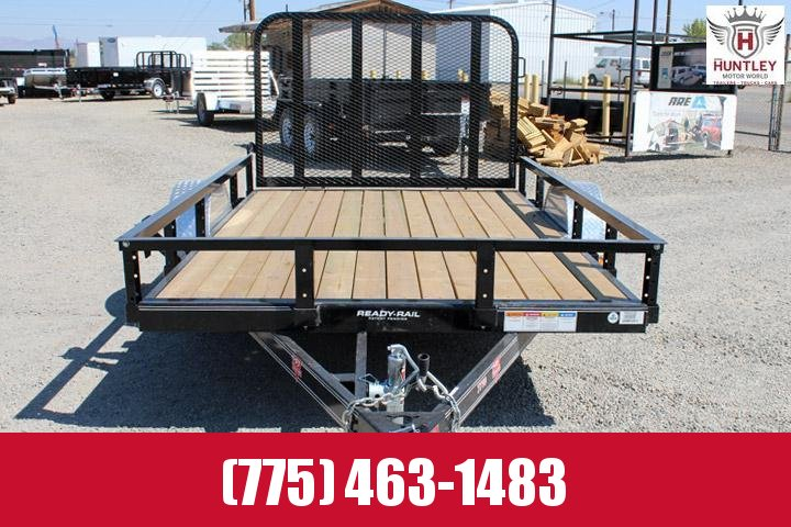 PJ Trailers 77 in. Single Axle Channel Utility (U7) Trailer $2095