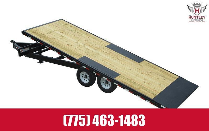"102"" x 22' 2021 PJ Trailers Deckover Tilt (T8) Equipment Trailer"