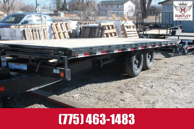 "102"" x 22' 2021 PJ Trailers Deckover Tilt (T8) Equipment Trailer"
