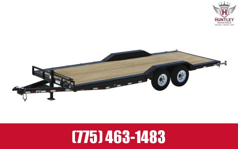 "102"" x 20' 2021 PJ Trailer (B6) Carhauler/Equipment Trailer"