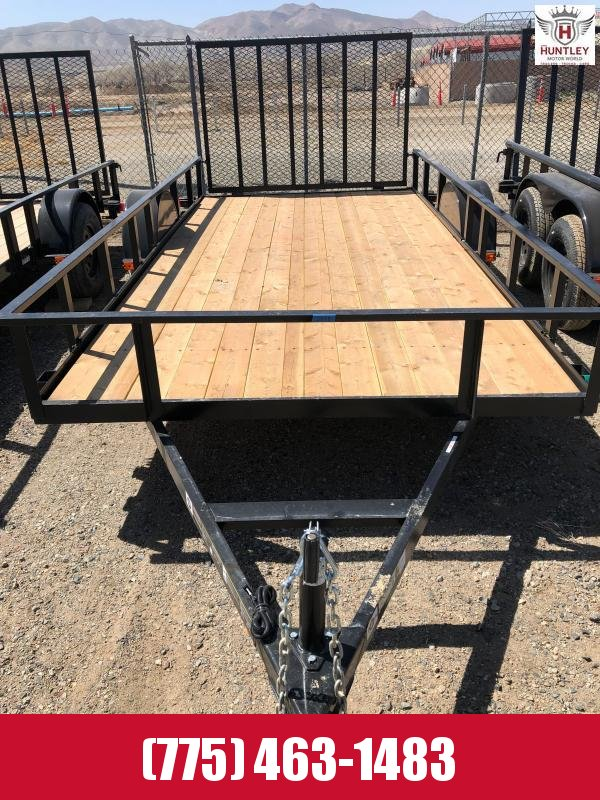 6X14GWTTR 2021 Carry-On Landscape Trailer