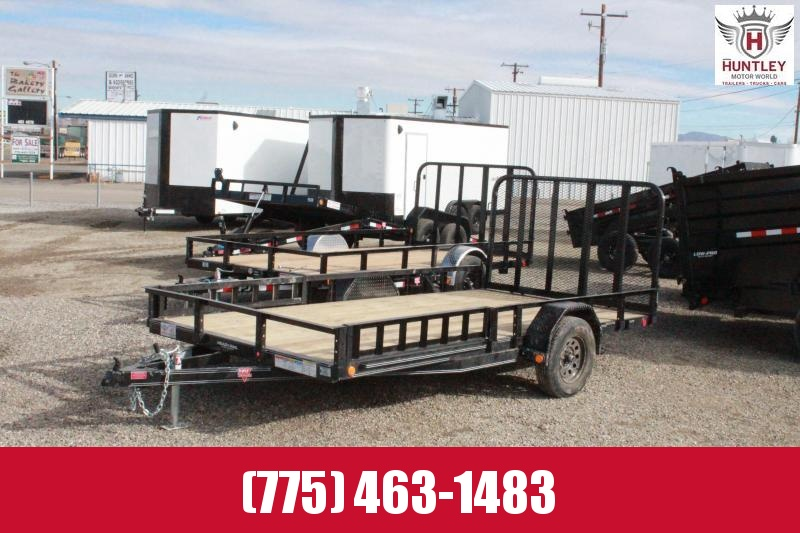 2021 PJ Trailers 83 in. Single Axle Channel Utility (U8) Utility Trailer $2795