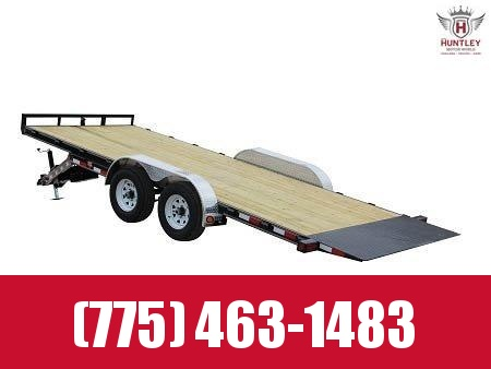 2021 PJ Trailers 83 in. Hydraulic Quick Tilt (TH) 20' Equipment Trailer