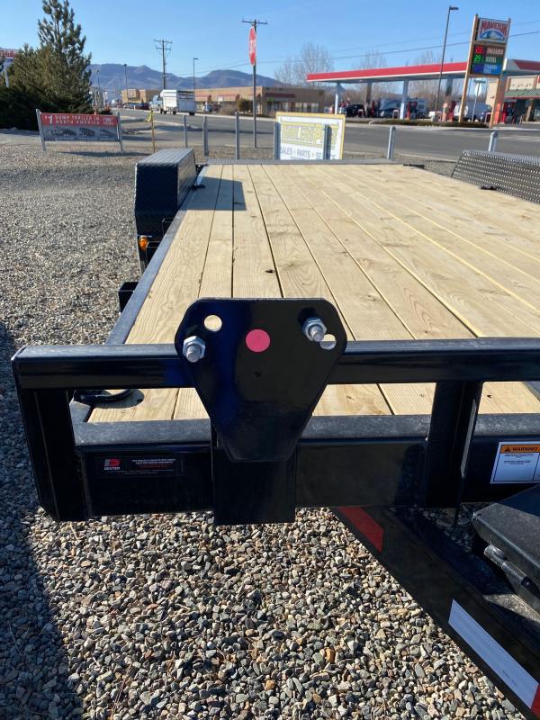 2021 PJ Trailers 83 in. Hydraulic Quick Tilt (TH) 20' Equipment Trailer
