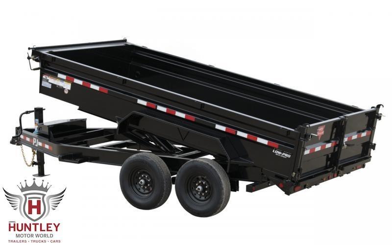 "83"" x 14' (DL) Dump Trailer PJ TRAILERS"